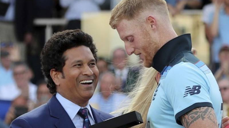 """""""Ben Stokes will lead from front"""": Sachin Tendulkar sees MS Dhoni-like quality in new England captain"""